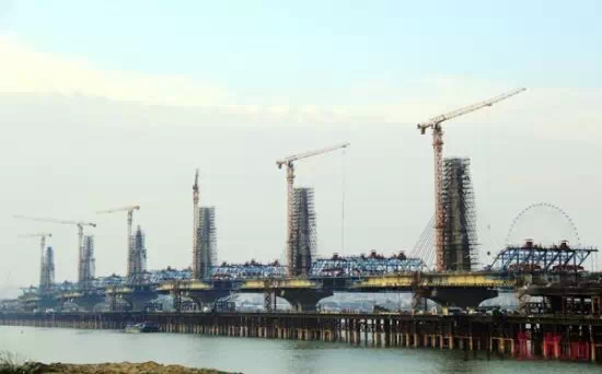 ZTT7525 Cooperated-builing nanchang chaoyang bridge